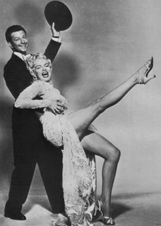 """Marilyn Monroe & Donald O'Conner in """"There's No Business Like Show Business"""""""