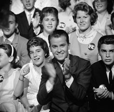 Dick Clark's American Bandstand — WFIL-TV (1952–1957), ABC (1957–1987), Syndicated (1987–1988), USA Network (1989)