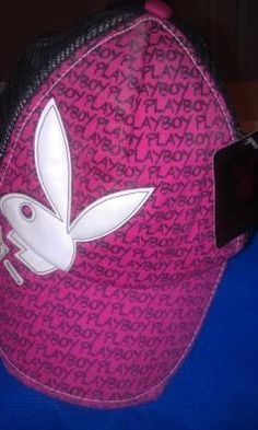 $9.99  Playboy Pink/ black hat with tags ** free shipping