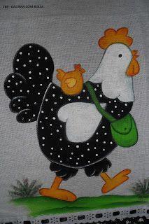 57 Ideas For Patchwork Cozinha Galinha Patchwork Baby, Patchwork Patterns, Quilt Block Patterns, Applique Patterns, Applique Quilts, Applique Designs, Patchwork Quilting, Quilt Blocks, Chicken Crafts