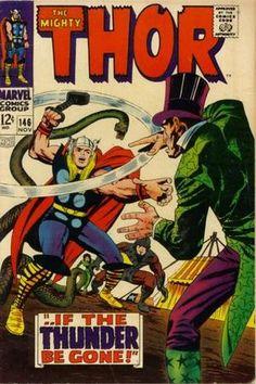 Thor 146. Por Jack Kirby, Vince Colletta, Stan Goldberg y Sam Rosen. #Thor #JackKirby