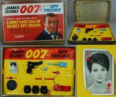 James Bond Spy Toys | James Bond 1965 Gilbert Boxed Magic SPY Tricks | eBay