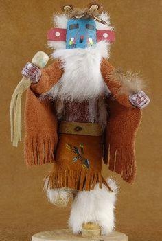 Navajo Morning Singer Kachina Doll $66.00 #alltribes