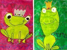 Prince grenouille et vagues