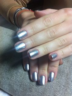 Silver magic nails