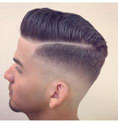 Mens haircut. Simple, fresh, stylish.
