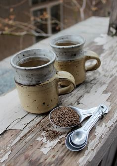 An ancient remedy for digestive problems, in a warm cup...