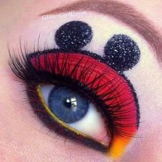 Minie mouse eyes