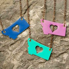 Handmade in Montana by Poisonberry Jewelry.