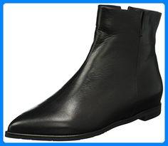 Oxitaly Damen Siria 40 Chelsea Boots, Schwarz (Nero), 39 EU - Stiefel für frauen (*Partner-Link)