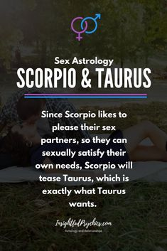 taurus and scorpio sex
