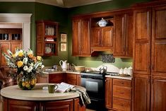 CABIHAWARE.COM: CHOSING HARDWARE FOR CHERRY KITCHEN CABINETS - Many homeowners that choose dark cherry Dark cherry kitchen cabinets can give an great thing about dark cherry cabinets is that just about any color of hardware