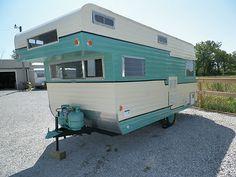 Vintage 1964 Franklin Camper Trailer in RVs & Campers   eBay Motors