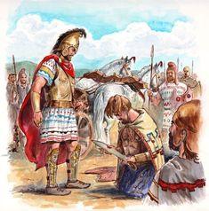 Thracian warband by by Radu Oltean