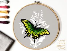 Needlepoint Patterns, Embroidery Patterns, Hand Embroidery, Loom Patterns, Modern Cross Stitch Patterns, Counted Cross Stitch Patterns, Butterfly Cross Stitch, Cross Stitching, Elsa
