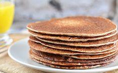 CLĂTITE sănătoase și hrănitoare din HRIȘCĂ și BANANE | La Taifas Pancakes Végétaliens, Sourdough Pancakes, Sweet Potato Pancakes, Buttermilk Pancakes, Waffles, Buckwheat Bread, Buckwheat Pancakes, Whole Food Recipes, Diet Recipes