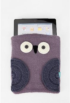 knit owl iPad/tablet case_urban outfitters