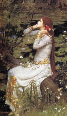 John William Waterhouse - Ophélia