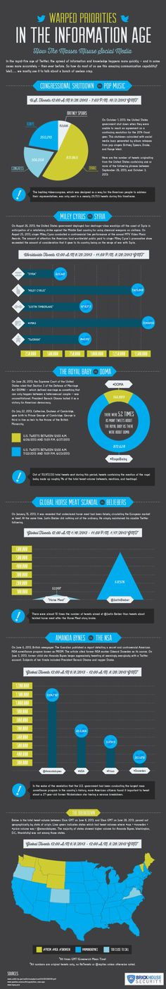 How the Masses Misuse Social Media (Infographic) from BrickHouse Security