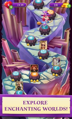 7 Bubble Witch 3 Saga Hack Android Ideas Hacks Witch Cheat Online