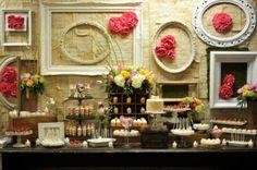 vintage dessert station