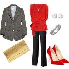 Office Christmas Party Outfit