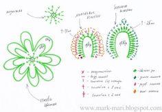 Como tejer maravillosas Flores a crochet