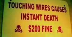 Who pays the fine if you're instantly dead?