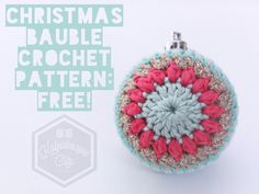 Christmas Baubles: FREE PATTERN from Kaleidoscope City – Kaleidoscope City