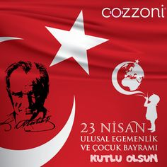 23 Nisan / Ulusal Egemenliğimizin 100. Yılı ve Çocuk Bayramı Kutlu Olsun !   Happy 23th of April / National Sovereignty and Children's Day ! Info Board, Child Day, Work On Yourself, Twitter Sign Up, Shit Happens, Olinda