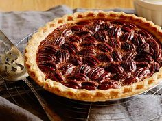 Bourbon Pecan Pie: aka Douglas' Dark Rum Pecan Pie from FoodNetwork.com  I combine this with 2 oz of unsweetened chocolate, and add vanilla (see Tyler's pie). I also use Agave and molasses instead of corn syrup.
