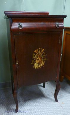 Antique Sheet Music Cabinet Cupboard | Sheet music, Cupboard and ...