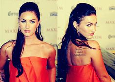My celeb twin, with a tat where I want it. quite amusing =)