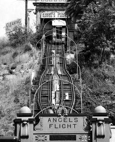 Angel's Flight - Vintage Southern California