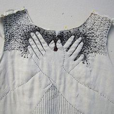 Подборка необычной вышивки (ч.4). ЧБ / Вышивка / ВТОРАЯ УЛИЦА
