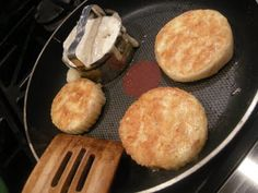 English Muffins - Julia Child recipe made with potatoes