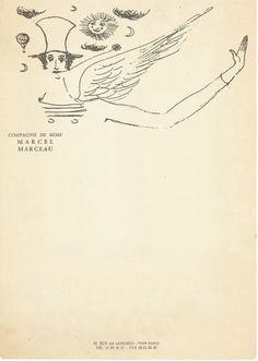 Stripes (Marcel Marceau letterhead) #stripes