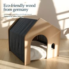 Modern Dog Houses, Cardboard Cat House, Luxury Pet Beds, Cat Cages, Indoor Pets, Cat Playground, Pet Furniture, Pet Home, Animal House