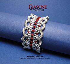 Tutorial Giasone Bracelet beading pattern by FucsiaStyle on Etsy