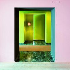 les claviers de couleurs Le Corbusier par Keim