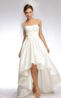 Fresh High low plus size wedding dresses http pluslook eu party