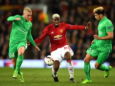 Zlatan Ibrahimovic's maiden Manchester United hat-trick put St Etienne to the sword as Jose Mourinho's men took control of this Europa League last-32 tie. The build-up to the Old Trafford encounter was dominated by Paul Pogba's clash with his brother Florentin Pogba, but the post-match chatter will surround United's elder statesman. Ibrahimovic has made a mockery of the doubters since his summer arrival and the 35-year-old took his tally for the season to 23 with a treble as U...