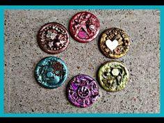 Button Embellishments #EveryDayArtHop