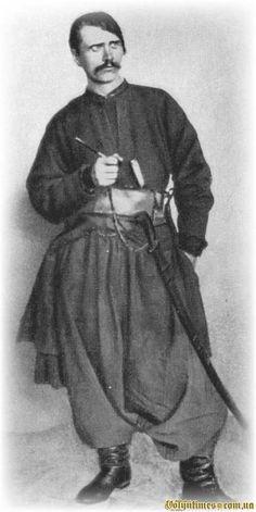 Dmitro Yavornitsky 1890. Dmytro Ivanovich Yavornytsky (Ukrainian: Дмитро́ Іва́нович Яворни́цький, Russian: Дмитрий Иванович Яворницкий, Dmitry Yavornitsky, also known by his pen name Evarnitsky) (November 6, 1855, Kharkov Governorate – August 5, 1940, Dnipropetrovsk) was a noted Ukrainian historian, archeologist, ethnographer, folklorist, and lexicographer.
