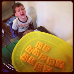 Whoa- how fun are Scrabble Cheezits! Inquiring Our Way Through First Grade: Five For Friday: First Week Back!