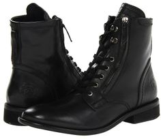 Diesel Miliboot Pataboot The Pit (Black) - Men's Shoes
