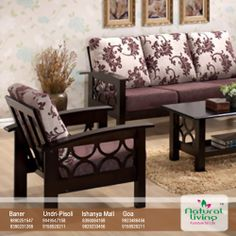 Sofa Set Pune India Gray Corner Fabric 8 Best Images Goa Wooden If You Have Large Family Indeed Use Your Living Room A Lot So Need For Solid Furniture In