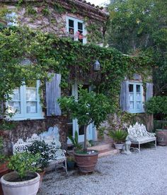 Penny Bianca's incredibly charming Montecito French Chateau