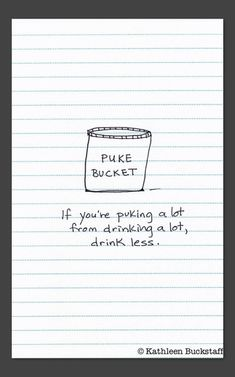 A piece of advice from a mom to her son who went away to college. Take a look at the rest of her notebook drawings!