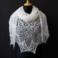 Check out this item in my Etsy shop https://www.etsy.com/listing/536963232/lace-shawl-white-milk-hand-knit-lace